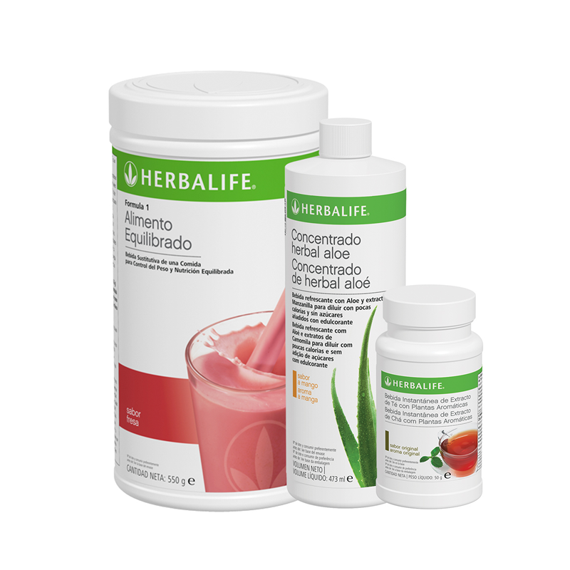 Programa Desayuno Saludable Herbalife Fresa 550 g