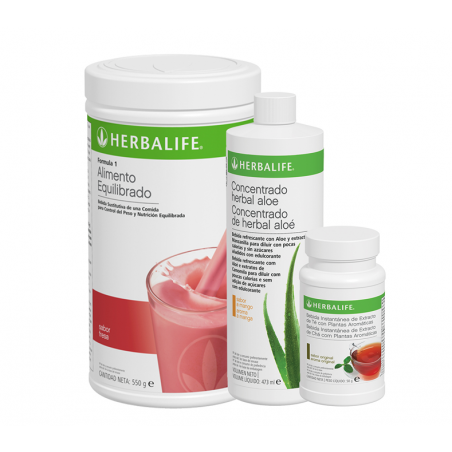 Programme de petit déjeuner sain à la Fraise Herbalife 550 g