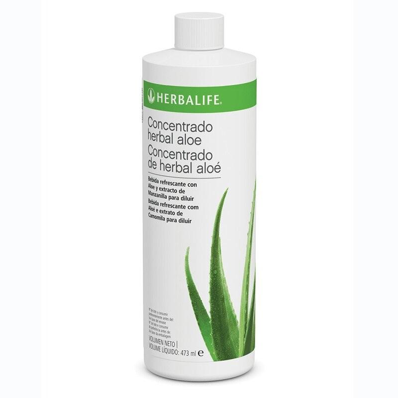 Bebida Concentrado Herbal Aloe - sabor original- 473 ml