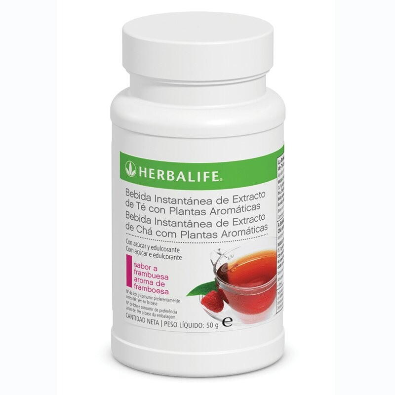 Instant Tea-based Drink with Raspberry Aromatic Plants - 50 g