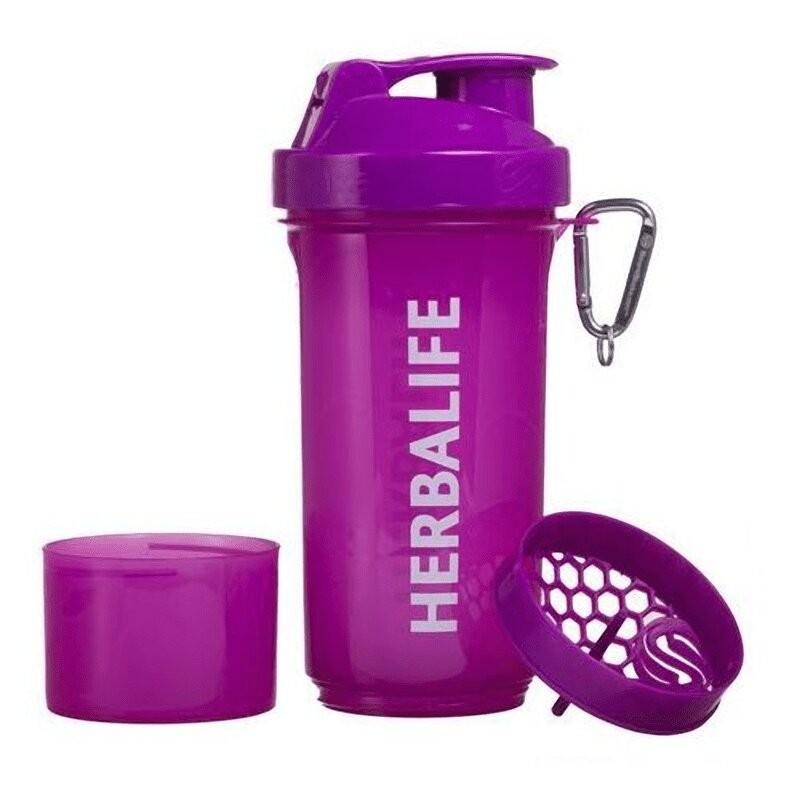 Herbalife Cocktail Shaker - Violet Néon 500 ml