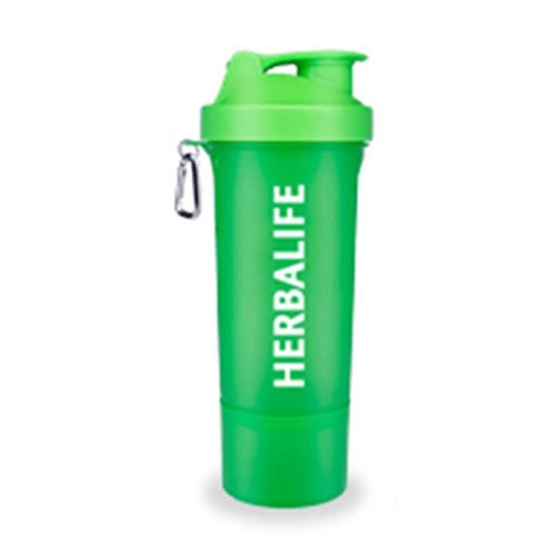 Coctelera Herbalife - Verde Neón 500ml