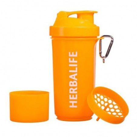 Coctelera Herbalife - Naranja Neón 500ml