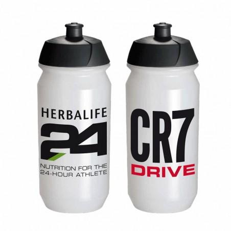 Botella Deportiva CR7 Drive Transparente 550 ml