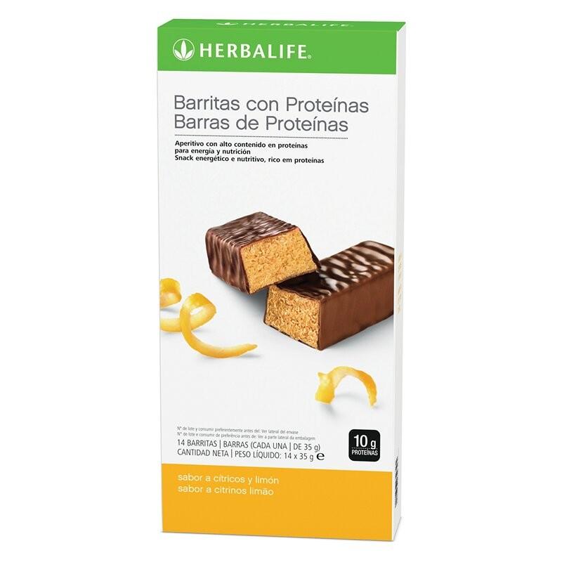 Lemon Protein Bars Box 14 bars