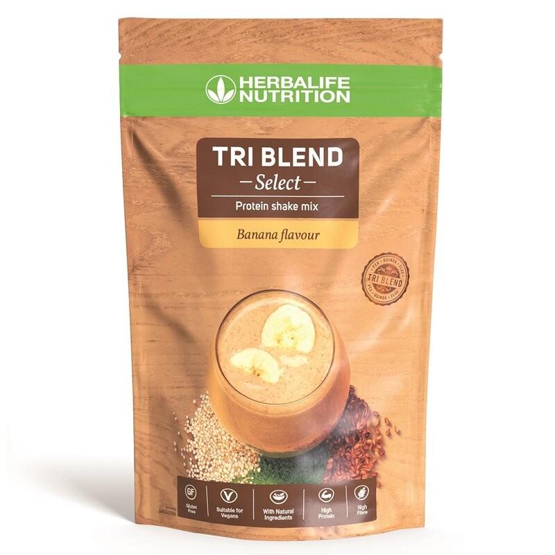 Tri Blend Select - Mélange pour boisson protéinée à la banane 600 g