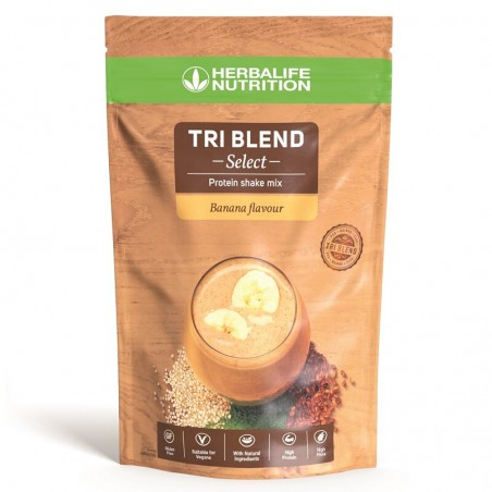 Tri Blend Select - Banana Shake Mix de proteínas 600 g