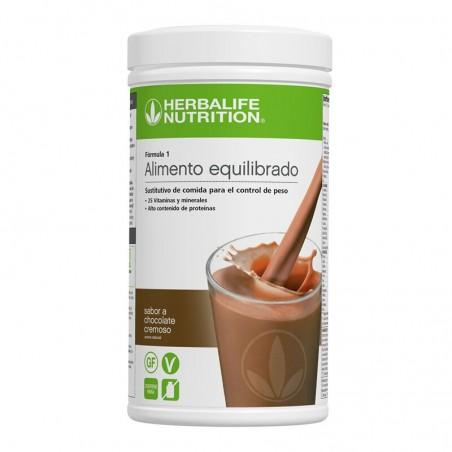 Creamy Chocolate Shake 550g - Formule 1 Nouvelle Génération
