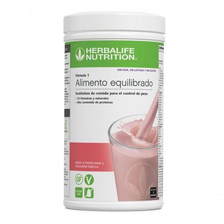 Himbeere und weiße Schokolade Smoothie 550g - Formula 1 der neuen Generation