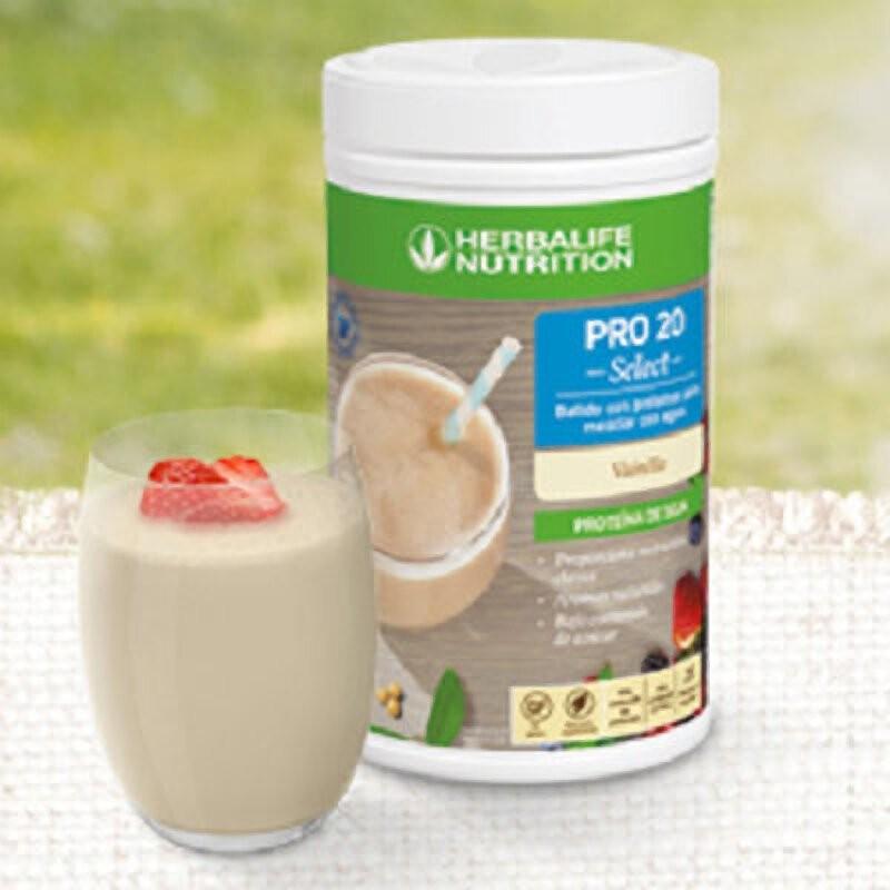 PRO 20 Select - Shake de proteína para misturar com água