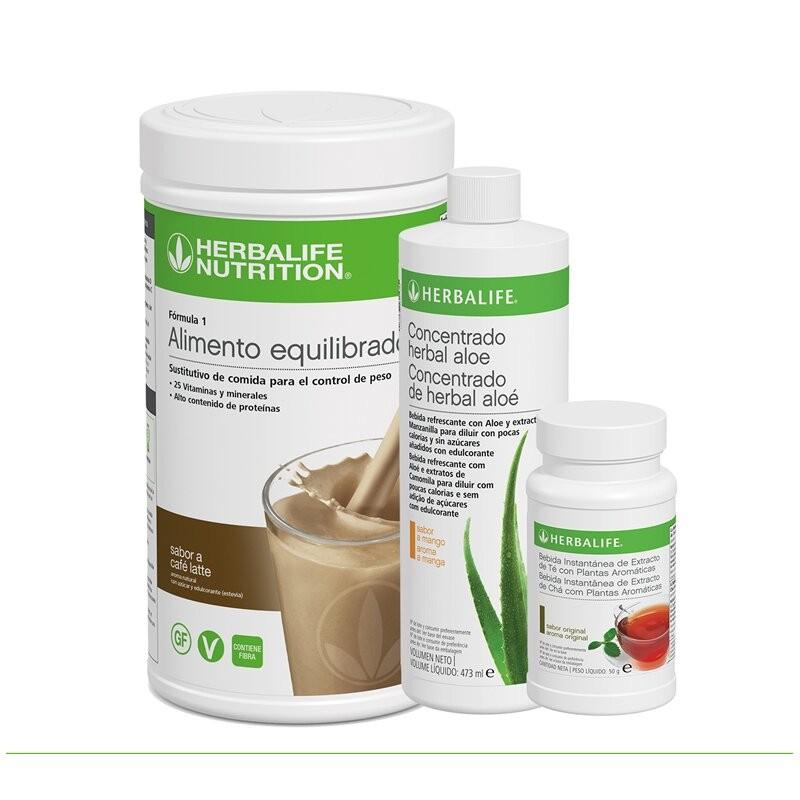 Programme de petit déjeuner sain à la Café au lait Herbalife 550 g