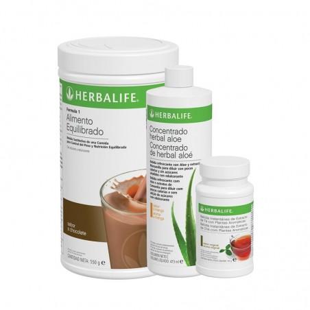 Programme de petit déjeuner sain à la Au chocolat Herbalife 550 g