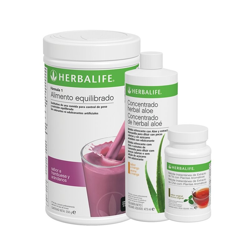 Herbalife frutas da floresta Healthy Breakfast Program 550 g