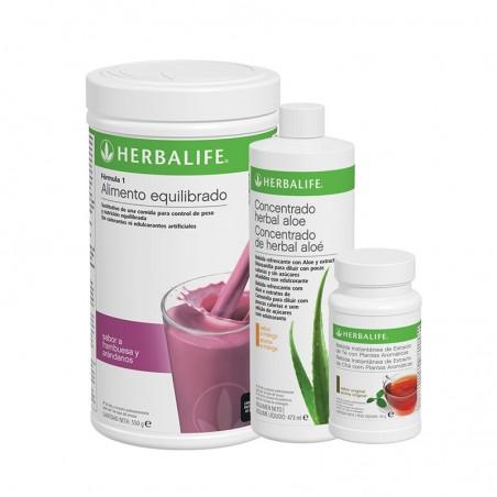 Programa Desayuno Saludable Herbalife Frutas del Bosque 550 g