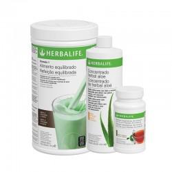 Programme de petit déjeuner sain à la Menthe et chocolat Herbalife 550 g