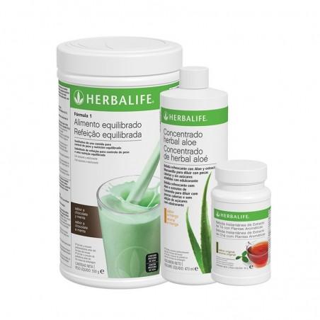 Herbalife Hortelã e Chocolate Healthy Breakfast Program 550 g