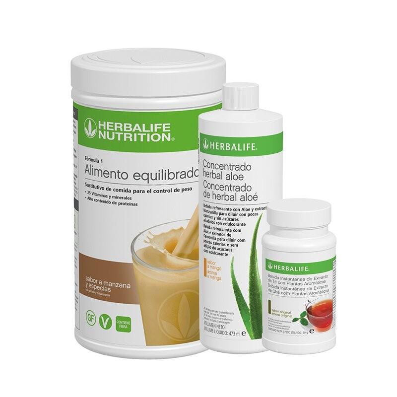 Herbalife Maçã e especiarias Healthy Breakfast Program 550 g