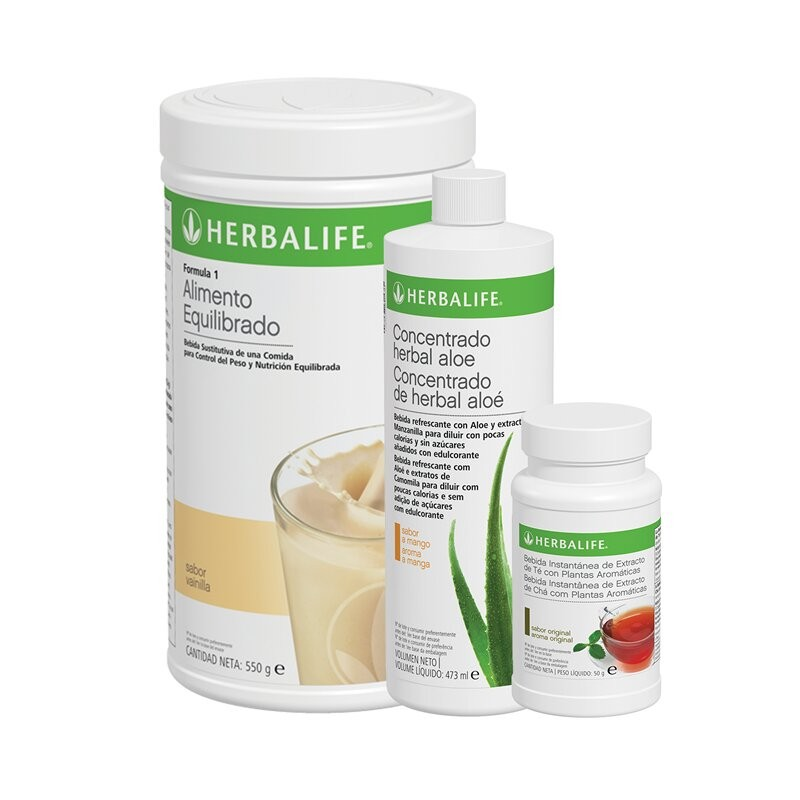 Programme de petit déjeuner sain à la vanille Herbalife 550 g