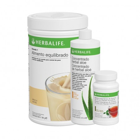 Programme de petit déjeuner sain à la vanille Herbalife 780 g